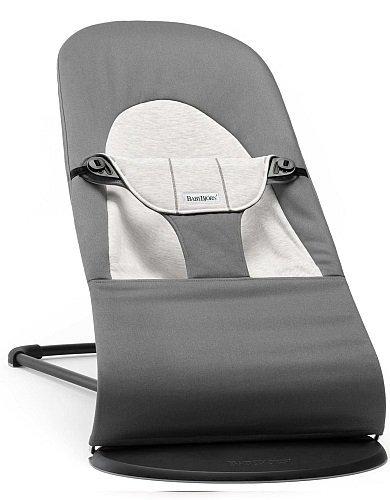 BABYBJORN - Bouncer Balance Soft - Grey/Grey Jersey