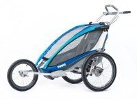 Thule Chariot CX1 Blue jogger + bicycle kit