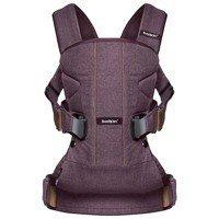 BABYBJORN ONE - nosidełko ergonomiczne, bordowy