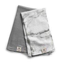 Elodie Details - kocyk bambusowy Marble Grey