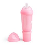 Herobility - butelka antykolkowa Herobottle 240 ml, różowa