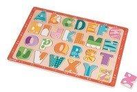 Janod - Puzzle drewniane Kolorowy alfabet
