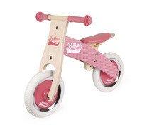 Janod - Rowerek biegowy różowy Little Bikloon 2+