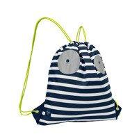 Lassig - Plecak Worek Little Monster granat