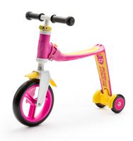 Scootandride - Highwaybaby PLUS 2w1 hulajnoga i rowerek 1+ Pink