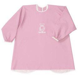 BABYBJORN - fartuszek z długim rękawem, Różowy