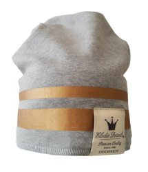 Elodie Details - czapka Gilded Grey, 6-12 m-cy