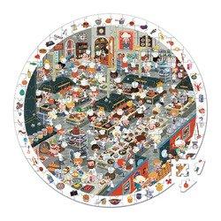 Janod - Puzzle obserwacyjne w walizce Restauracja