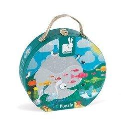 Janod - Puzzle w walizce Ocean