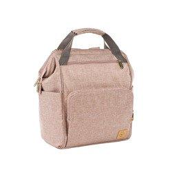 Lassig - Glam Label Plecak dla mam z akcesoriami Goldie Backpack Rose