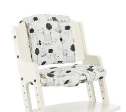 Poduszka do krzesła DanChair - COMFORT osiołki Tarok - szary