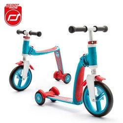 Scootandride - Highwaybaby PLUS 2w1 hulajnoga i rowerek 1+ Blue