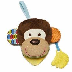 Skip Hop - Książeczka–pacynka Bandana Buddies Małpa