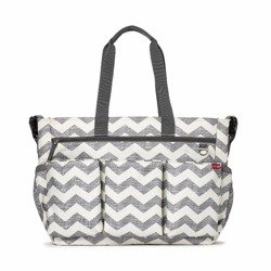 Skip Hop - Torba Double Signature Chevron