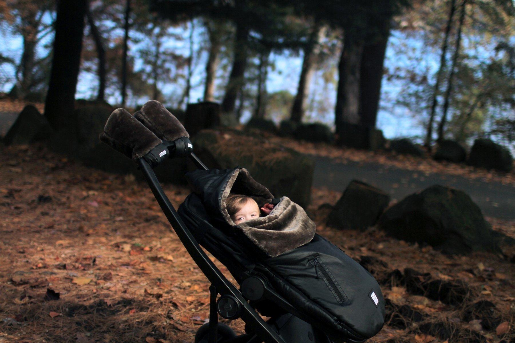 7AM - Śpiworek do wózka i fotelika samochodowego WaxedPOD M/L Waxed Forest