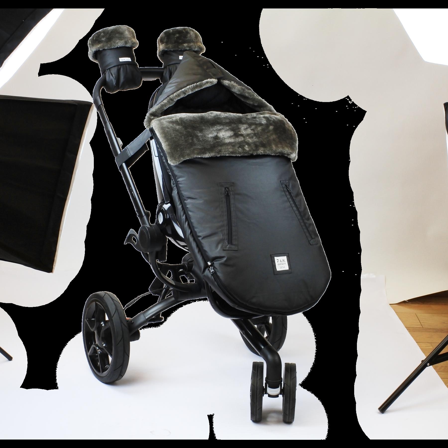 7AM - Śpiworek do wózka i fotelika samochodowego WaxedPOD S/M Waxed Forest