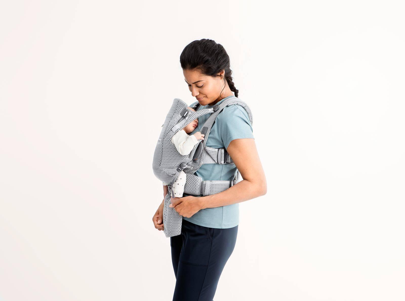 BABYBJORN MOVE 3D Mesh - nosidełko, Szary