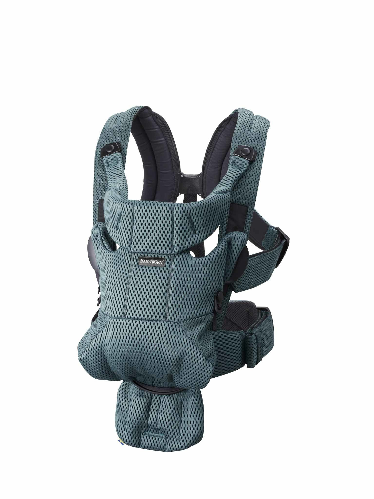 BABYBJORN MOVE 3D Mesh - nosidełko, Zielony