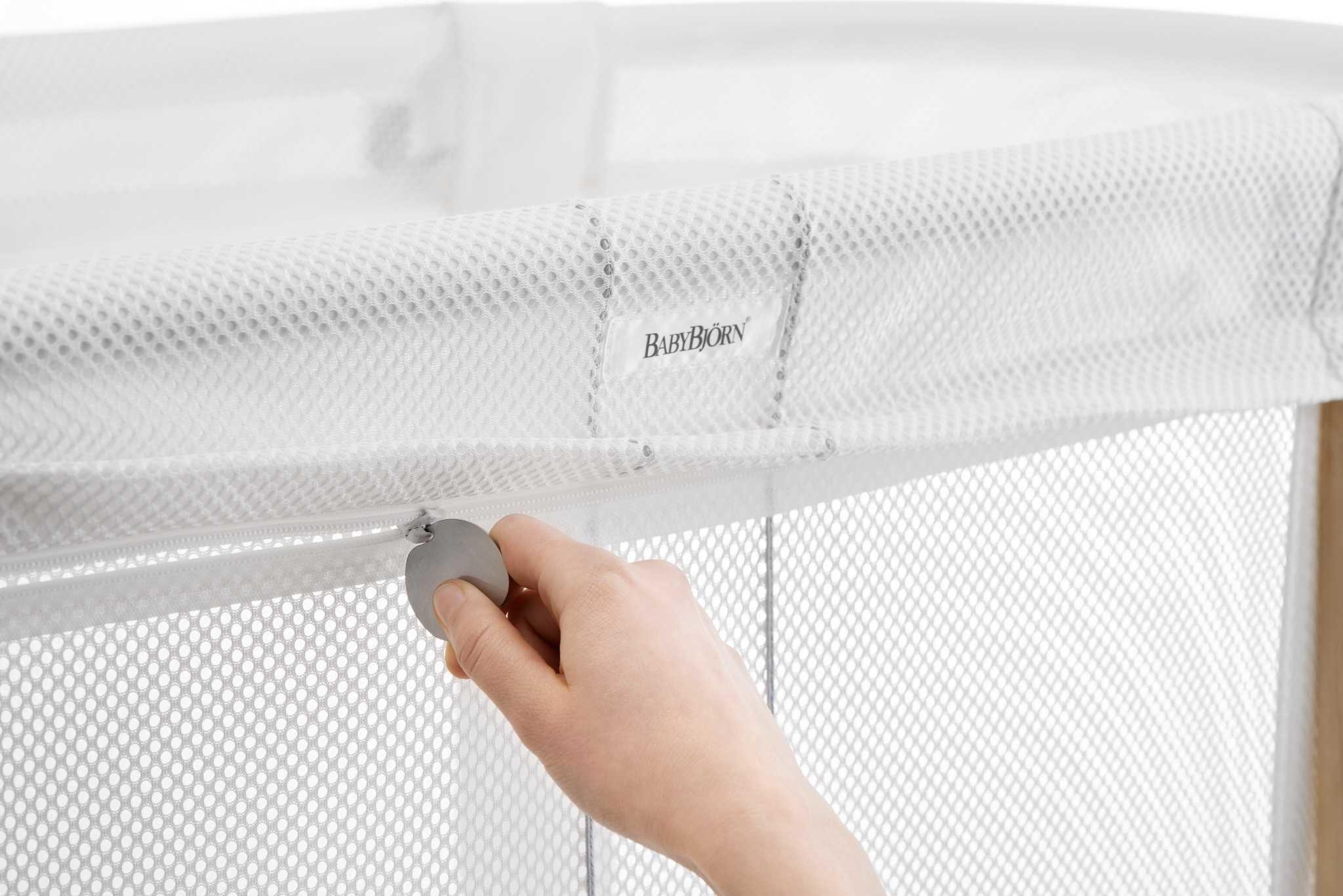 BABYBJORN - łóżeczko BABY CRIB, białe