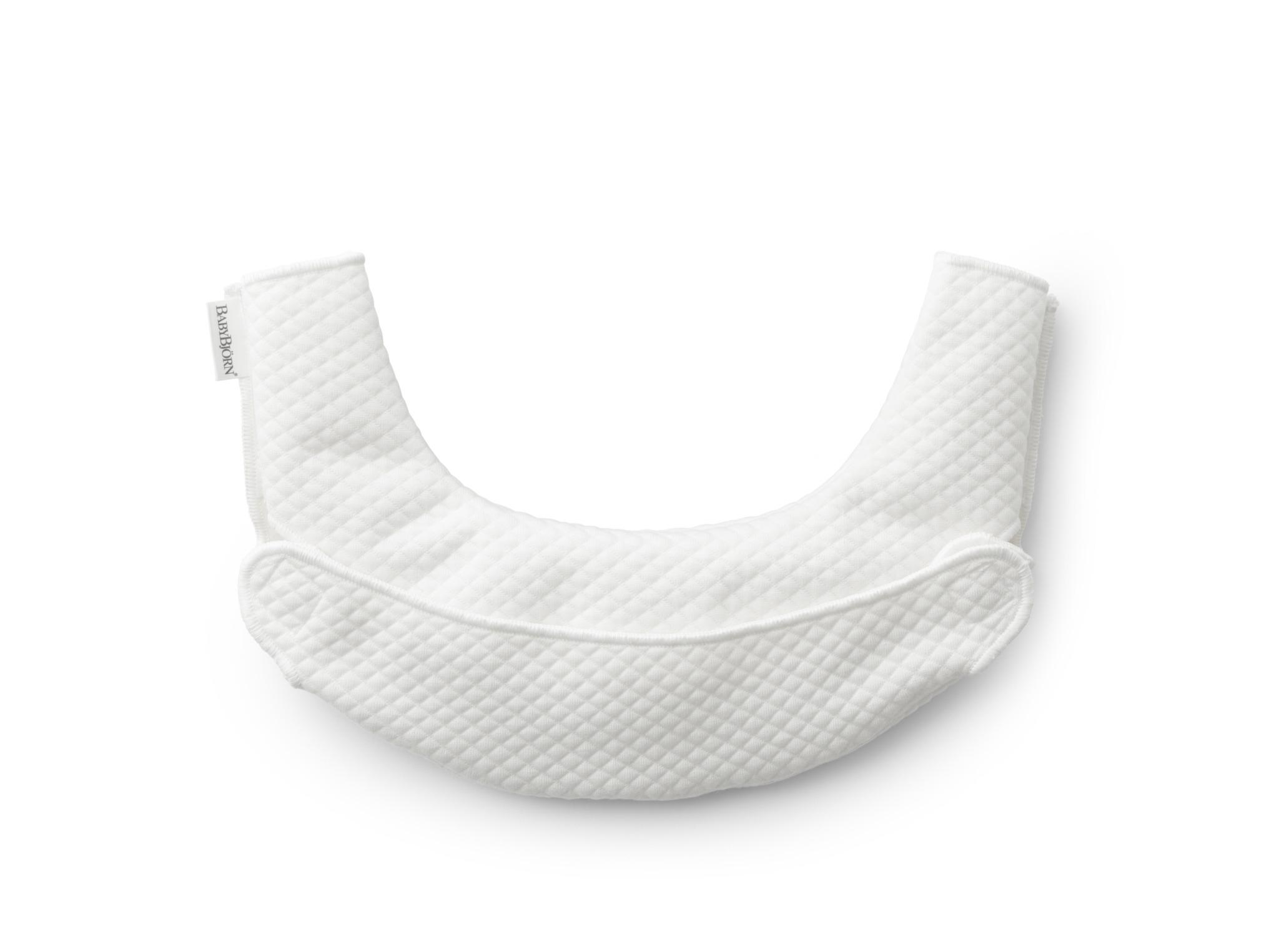 BABYBJORN - śliniaczek do nosidełka ergonomicznego BABYBJORN One, biały