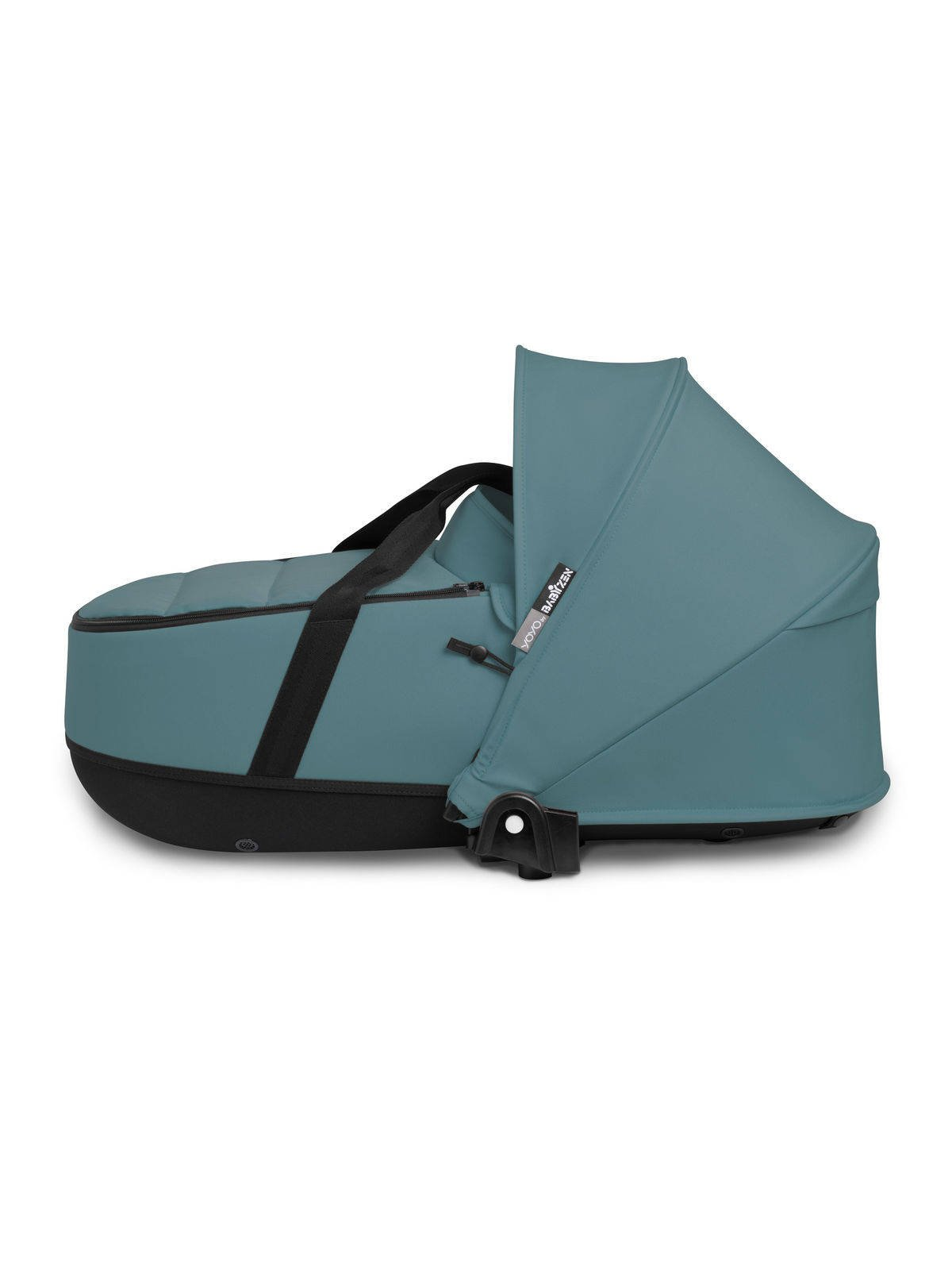BABYZEN YOYO² - kompletny zestaw biała rama/gondola/tapicerka 6+ - Aqua