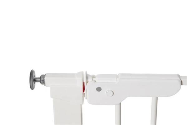 Baby Dan - Bramka ochronna PREMIER + 2 rozszerzenia 7 cm + panel 64,5 cm, biały