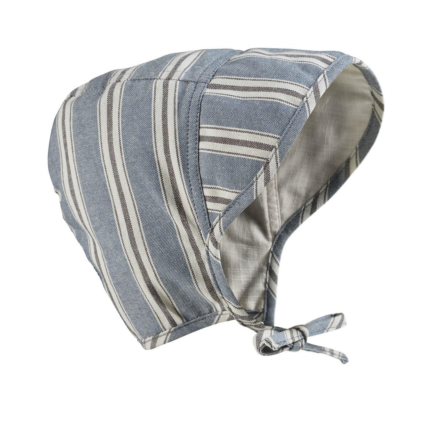 Elodie Details - Czapka Baby Bonnet - Sandy Stripe 0-3 m-ce