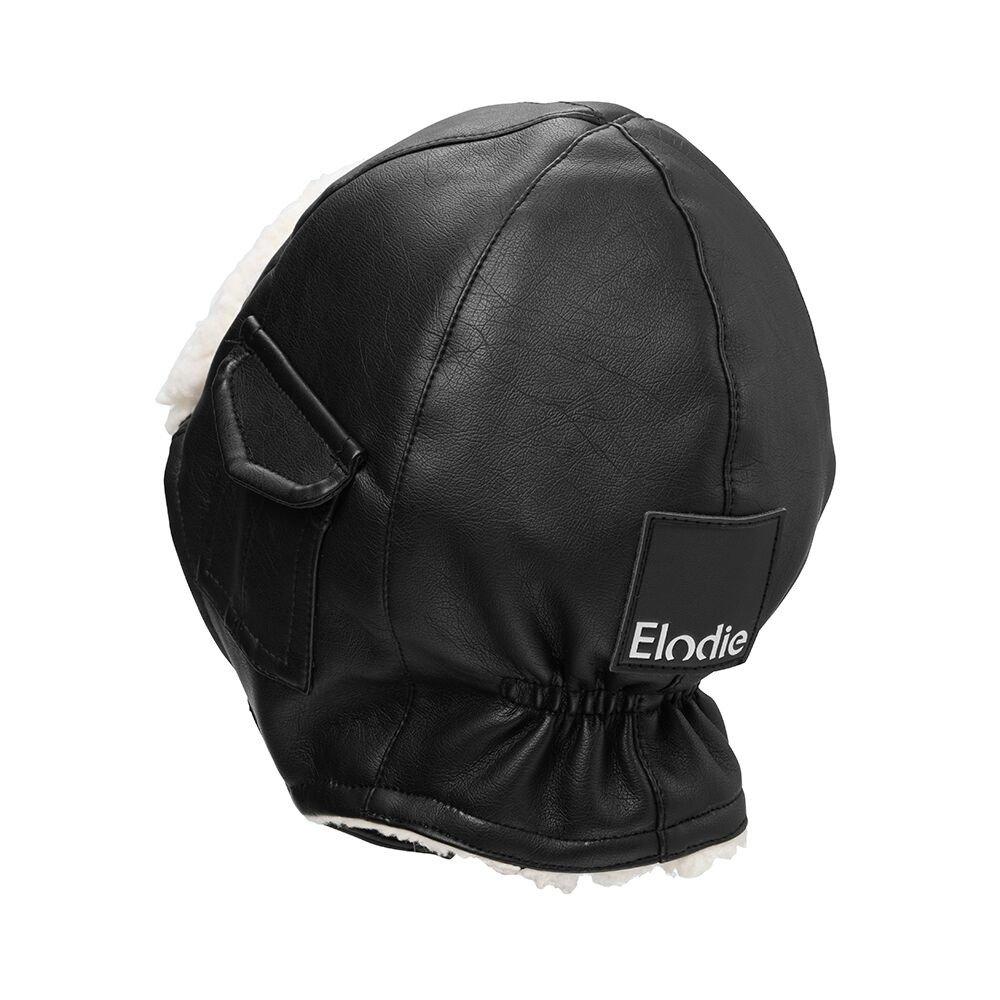 Elodie Details - Czapka Zimowa Aviator Black 6-12 m-cy