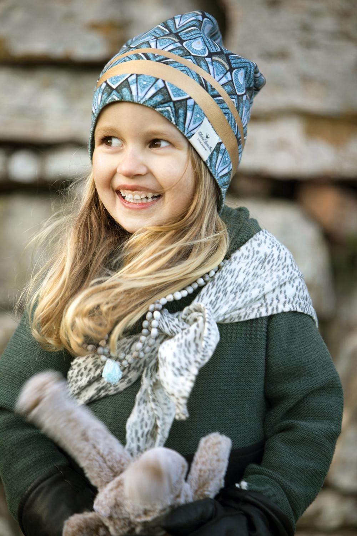 Elodie Details - Czapka - Gilded Everest Feathers 2-3y