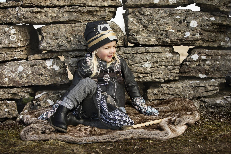 Elodie Details - Czapka - Gilded Playful Pepe 1-2y
