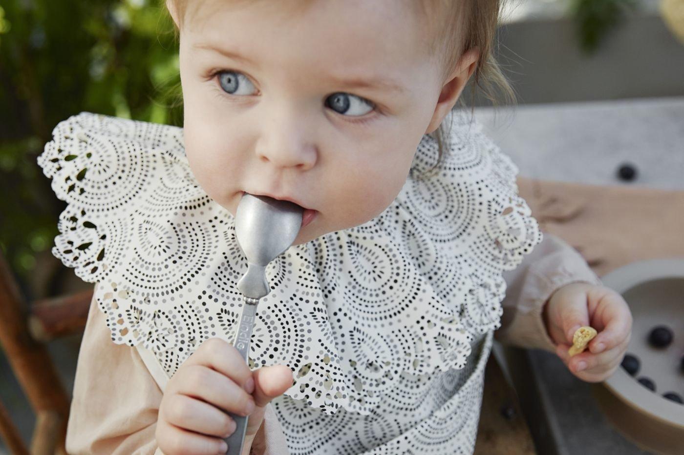 Elodie Details - Łyżeczka do karmienia - kolor antyczne srebro