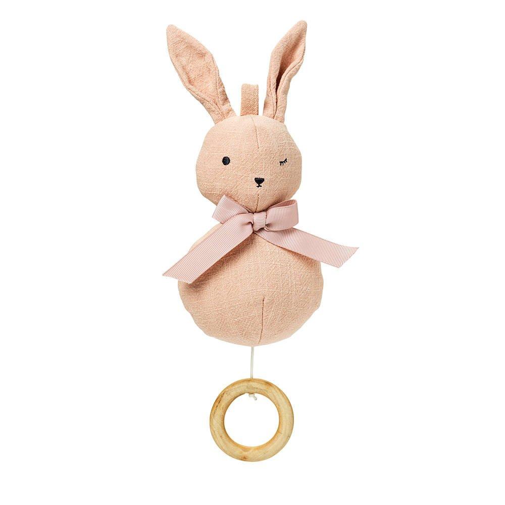 Elodie Details - Pozytywka - Powder Pink Bunny