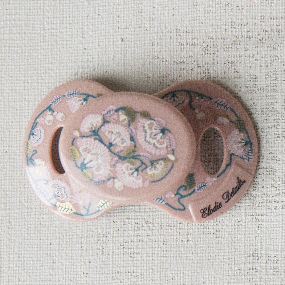 Elodie Details - Smoczek Newborn - Faded Rose Bells