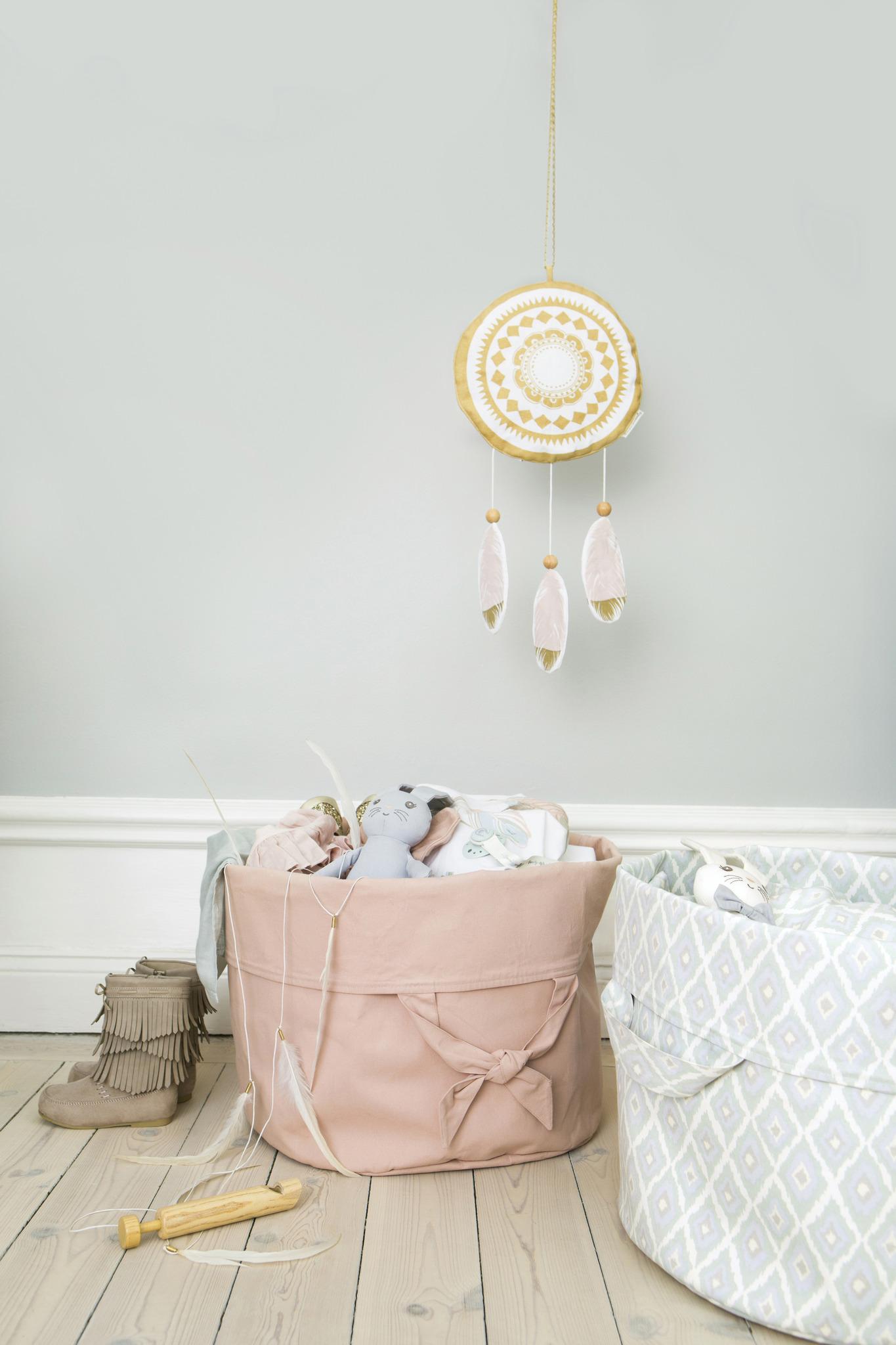 Elodie Details - pojemnik na zabawki - StoreMyStuff™ Powder Pink