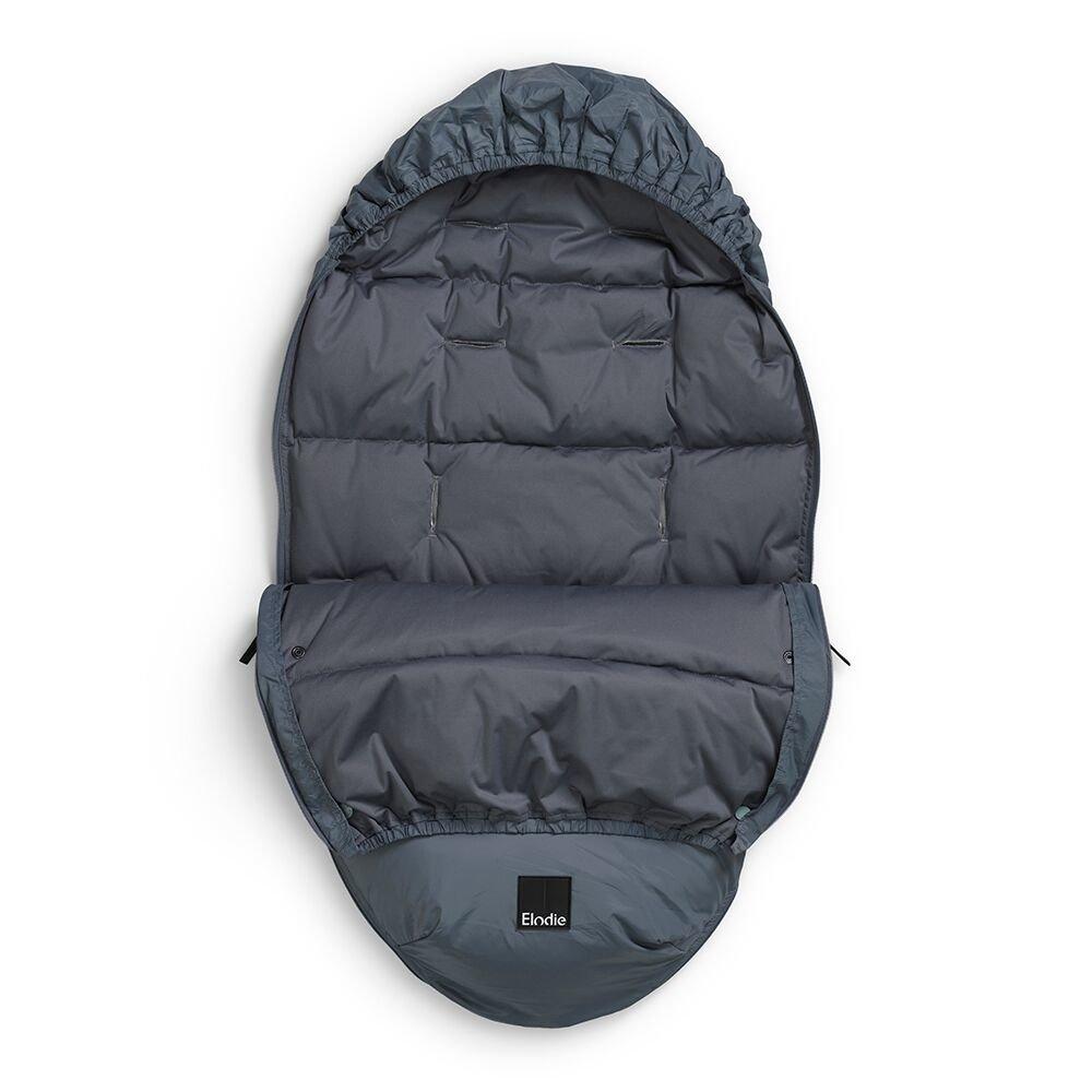 Elodie Details - puchowy śpiworek do wózka - Tender Blue