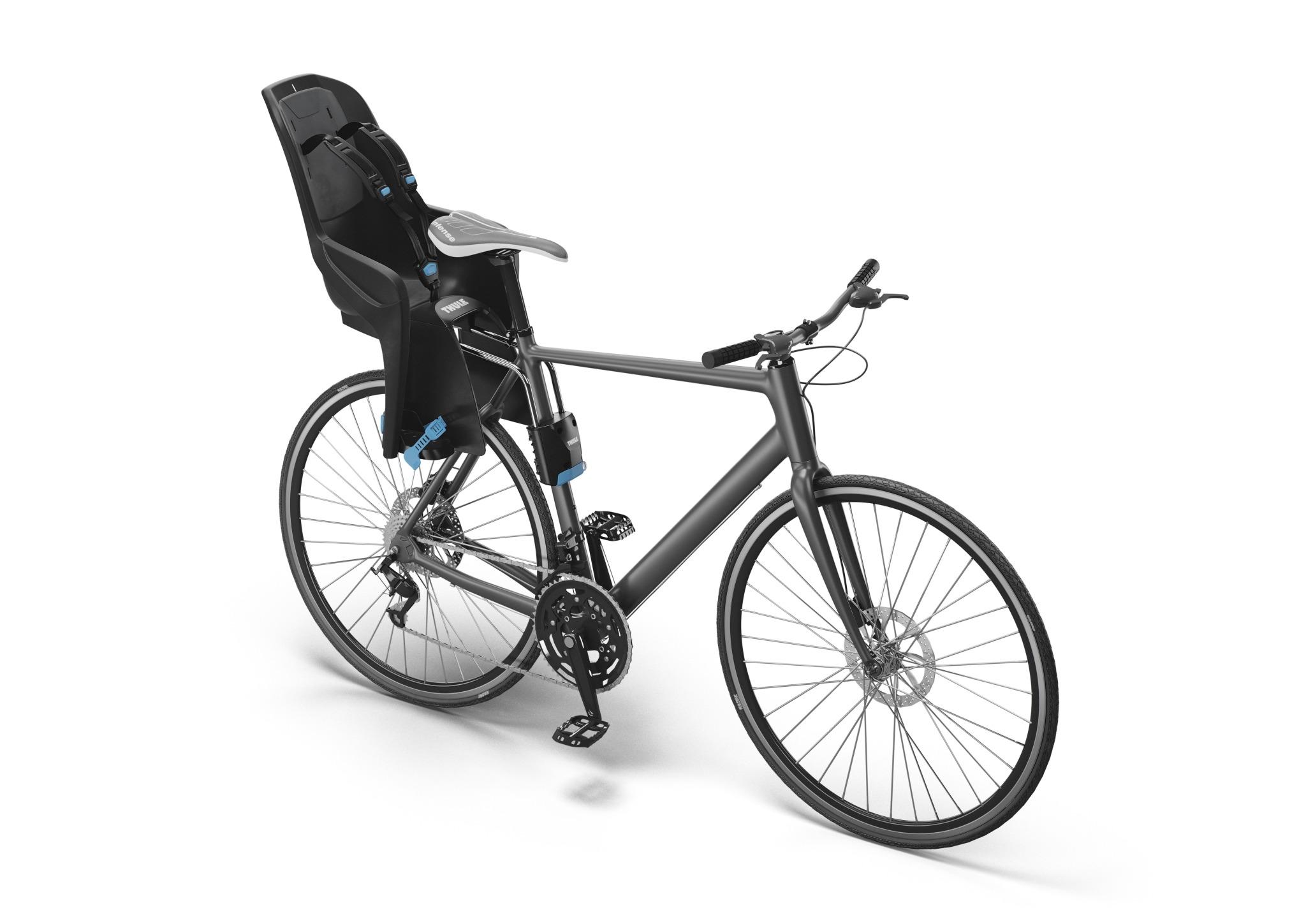 Fotelik rowerowy - THULE RideAlong Lite - czarny