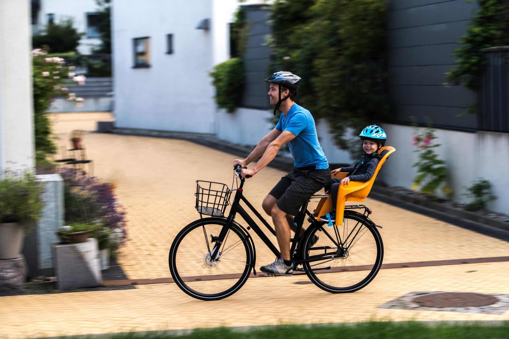 Fotelik rowerowy - THULE RideAlong Lite - szary