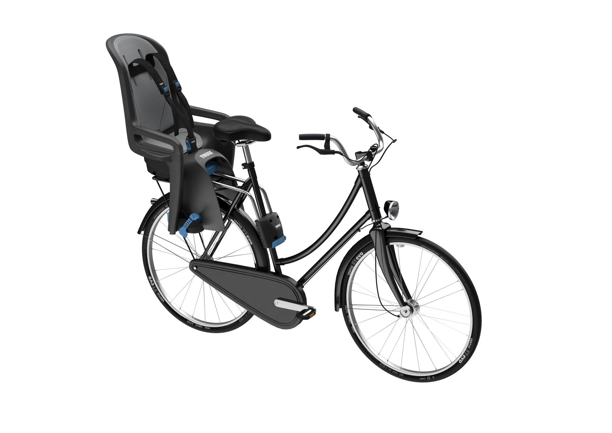 Fotelik rowerowy - THULE RideAlong - ciemnoszary