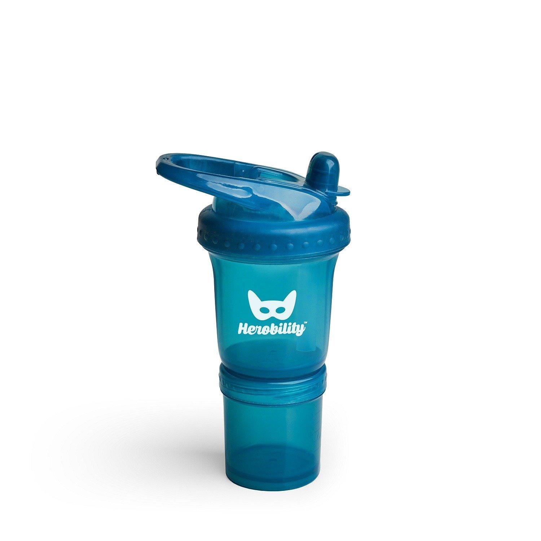 Herobility - bidon HeroSport 140ml - niebieski