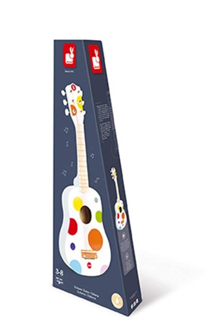 Janod - Gitara duża Confetti