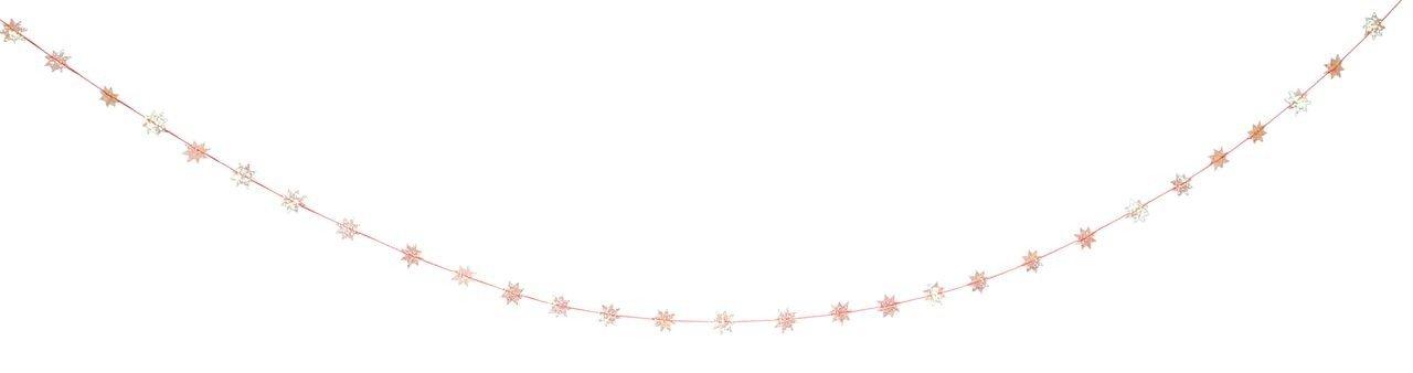 Meri Meri – Girlanda Gwiazdki opalizujące