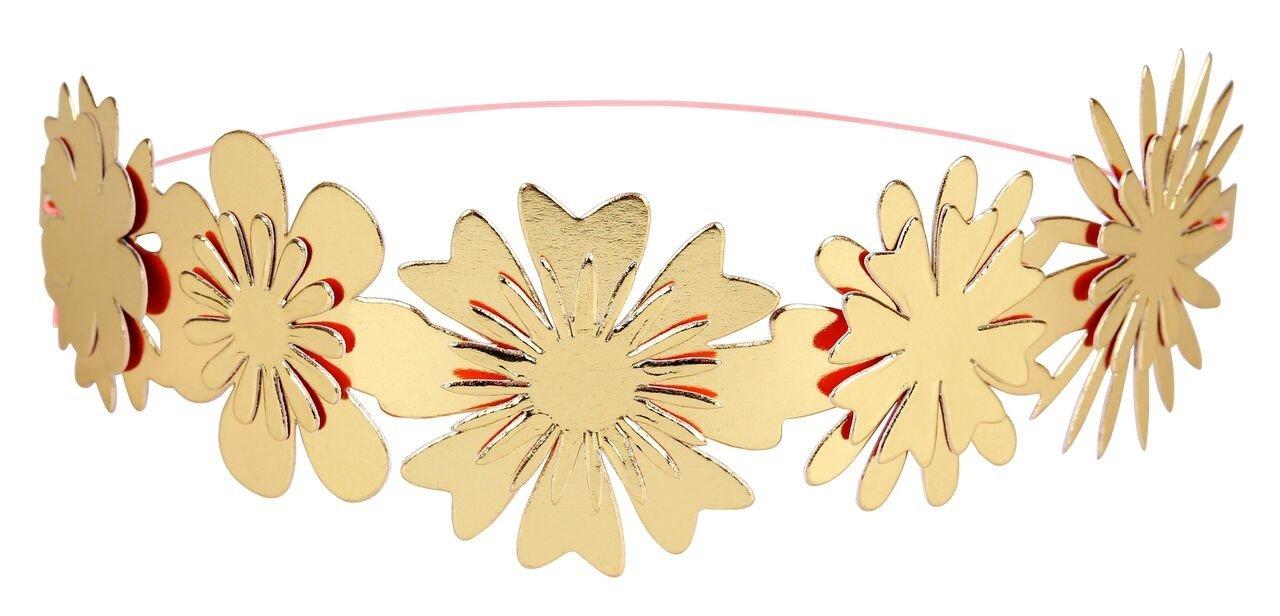 Meri Meri – Korony Kwiaty złote