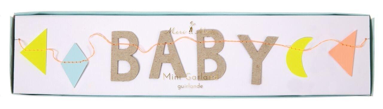 Meri Meri – Mini girlanda Oh Baby