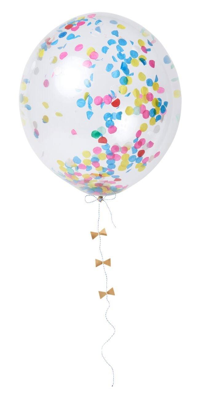 Meri Meri – Zestaw balonów Konfetti multikolor