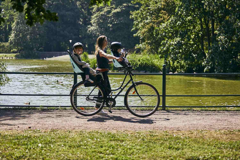 THULE - Yepp Nexxt Mini fotelik rowerowy - miętowy