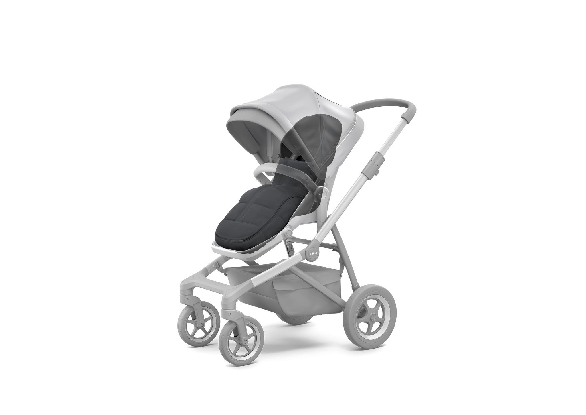Thule Sleek - śpiworek do wózka - Shadow Grey