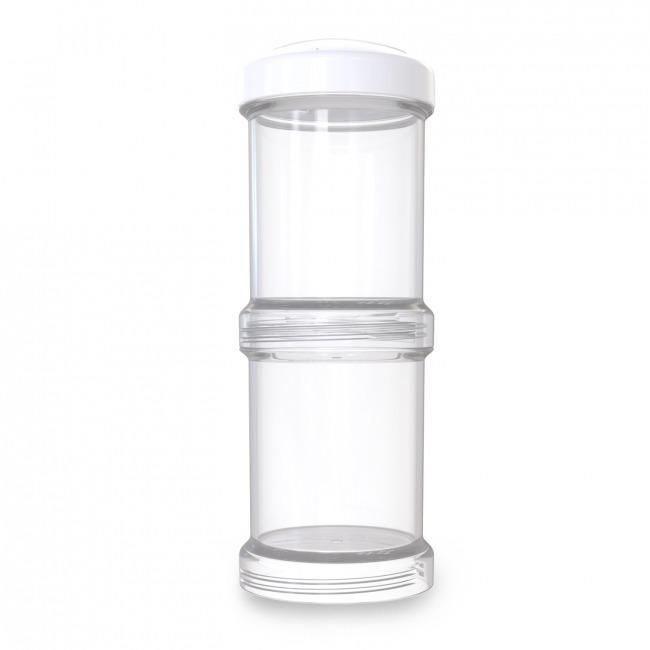 Twistshake - Pojemnik 2x100ml, biały