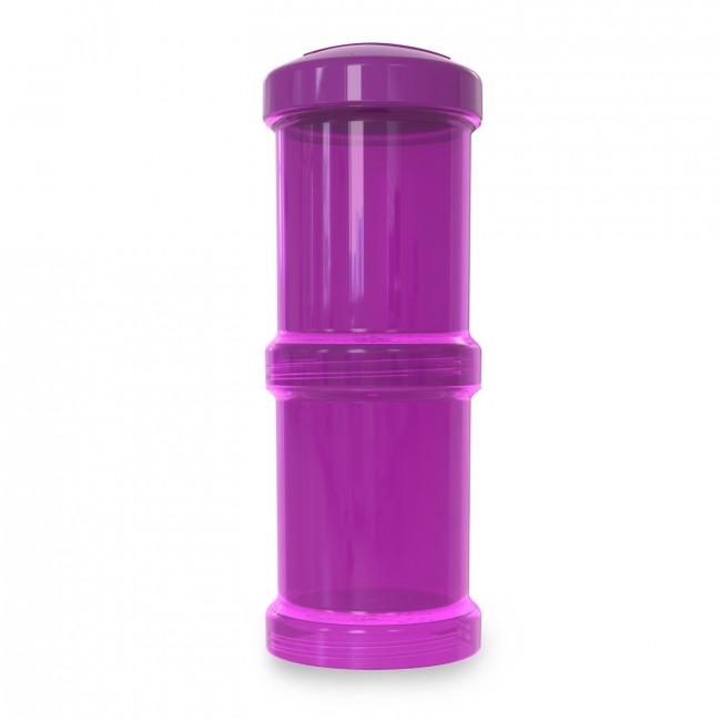 Twistshake - Pojemnik 2x100ml, fioletowy
