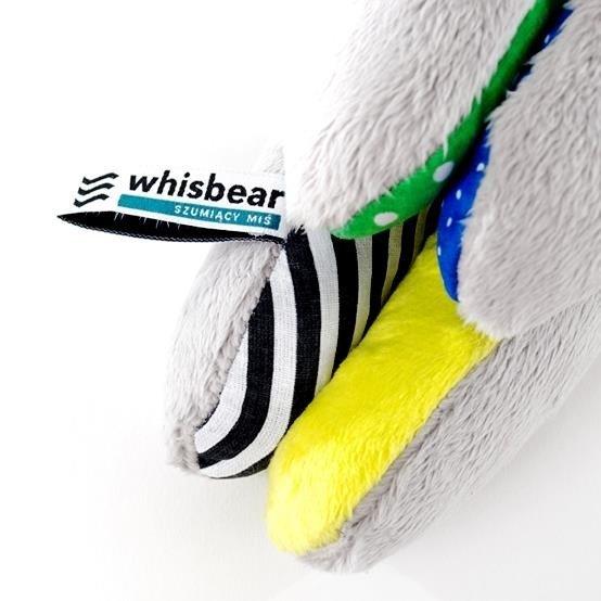 Whisbear - Szumiący Miś z funkcją CRYsensor cytryna