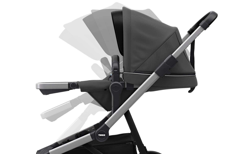 Wózek głęboko spacerowy Thule Sleek Shadow Grey